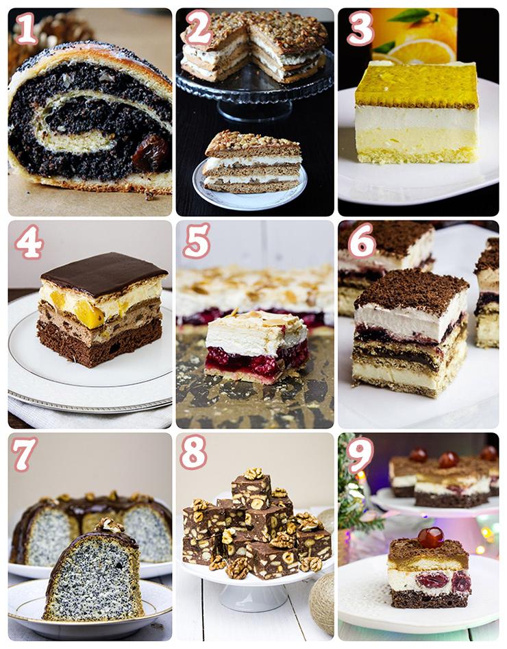 Propozycje ciast naświęta
